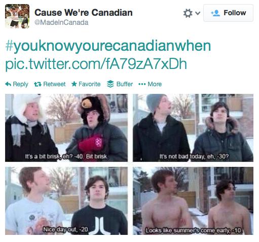 Twitter Pic - Canadian | YourWriterPlatform.com