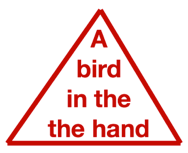 a bird in the hand image
