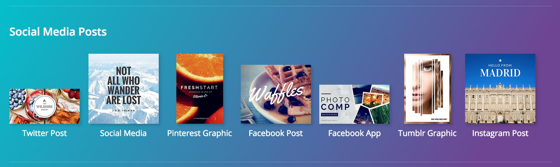 Canva Social Media Templates | YourWriterPlatform.com