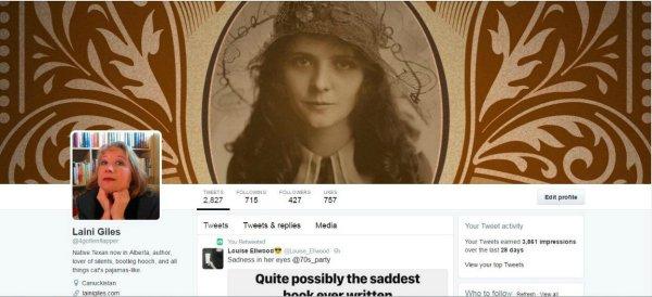 Laini Giles Twitter graphic