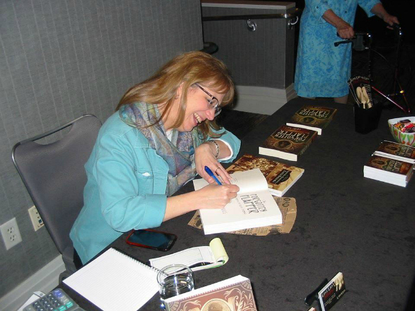 book signing at Cinecon