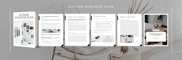 Author Business Plan (graphic)