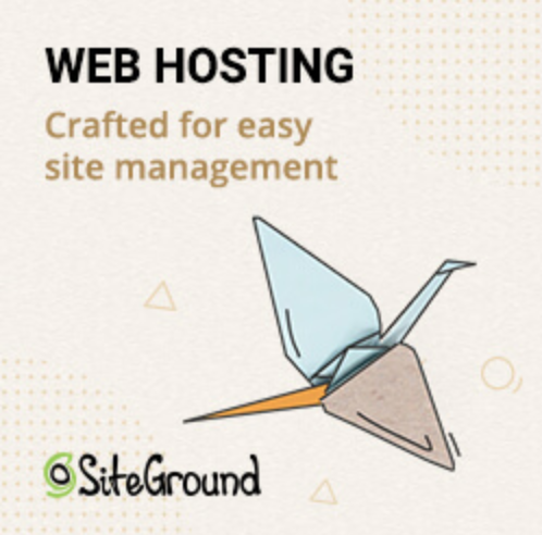 SiteGround Logo | YourWriterPlatform.com